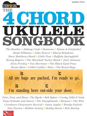 cover image of The 4-Chord Ukulele Songbook