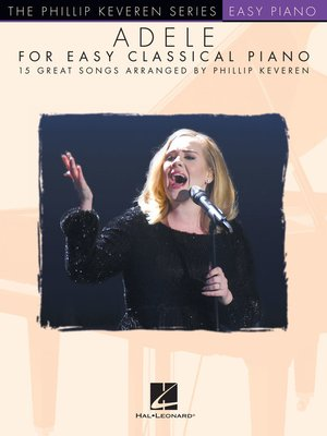 cover image of Adele for Easy Classical Piano