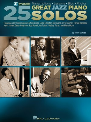 cover image of 25 Great Jazz Piano Solos