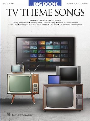 cover image of Big Book of TV Theme Songs