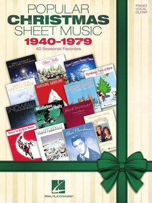cover image of Popular Christmas Sheet Music
