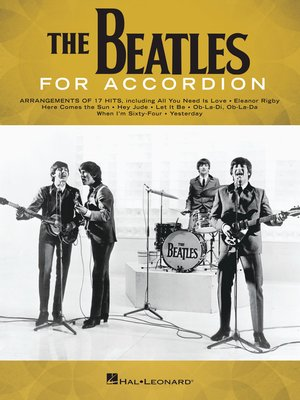 cover image of The Beatles for Accordion