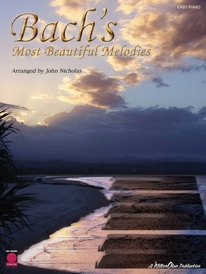 cover image of Bach's Most Beautiful Melodies (Songbook)