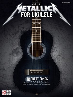 cover image of Best of Metallica for Ukulele Songbook