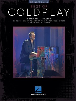 cover image of Best of Coldplay for Big-Note Piano