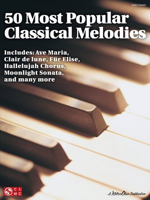 cover image of 50 Most Popular Classical Melodies (Songbook)