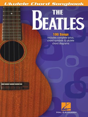 cover image of The Beatles--Ukulele Chord Songbook