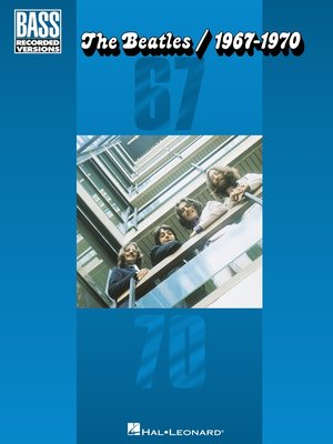 cover image of The Beatles/1967-1970 (Songbook)