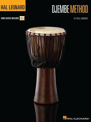 cover image of Hal Leonard Djembe Method