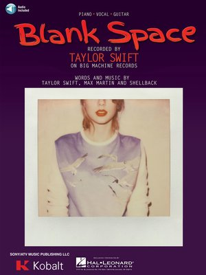 cover image of Blank Space Sheet Music