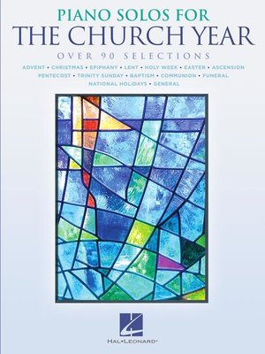cover image of Piano Solos for the Church Year Songbook