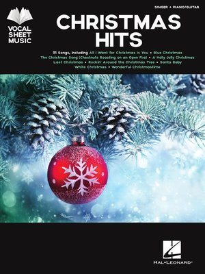 cover image of Christmas Hits Songbook