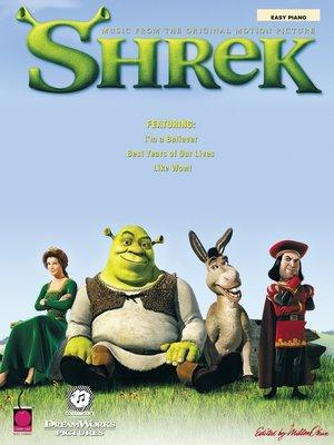 cover image of Shrek (Songbook)