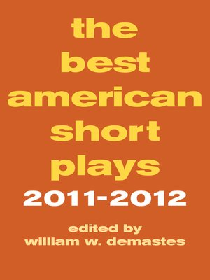 cover image of The Best American Short Plays 2011-2012