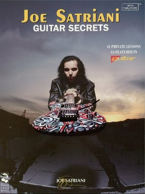cover image of Joe Satriani--Guitar Secrets (Music Instruction)