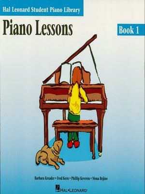 cover image of Piano Lessons--Book 1 (Music Instruction)