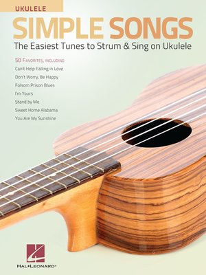cover image of Simple Songs for Ukulele