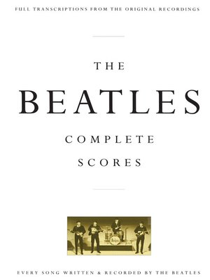 cover image of The Beatles--Complete Scores