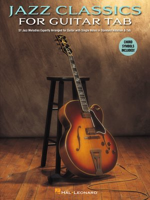 cover image of Jazz Classics for Guitar Tab