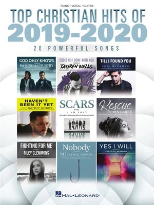 cover image of Top Christian Hits of 2019-2020 Songbook