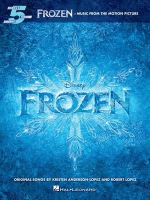 cover image of Frozen--Five-Finger Piano Songbook