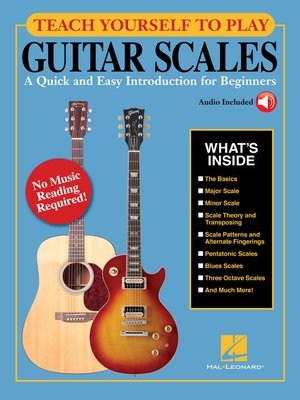 cover image of Teach Yourself to Play Guitar Scales