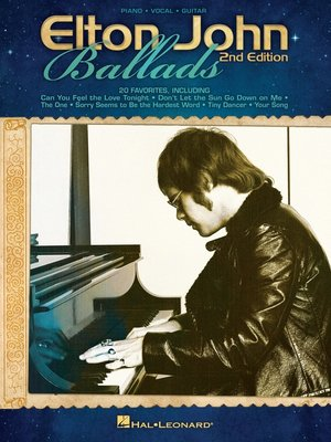 cover image of Elton John Ballads (Songbook)
