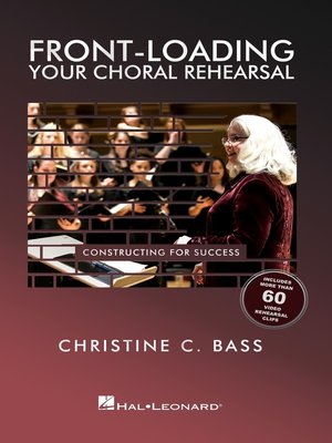 cover image of Front-Loading Your Choral Rehearsal