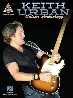 cover image of Keith Urban Guitar Anthology