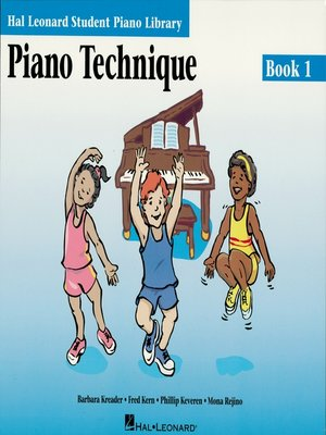 cover image of Piano Technique Book 1 (Music Instruction)