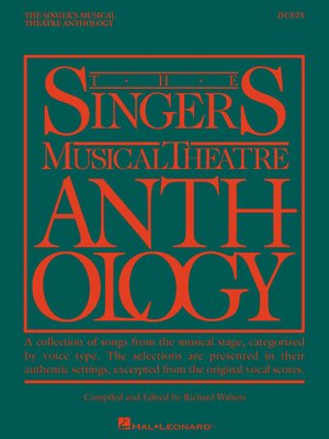 cover image of The Singer's Musical Theatre Anthology