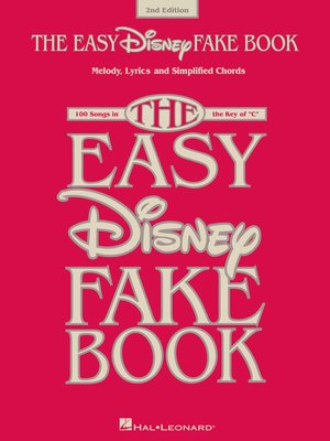 cover image of The Easy Disney Fake Book