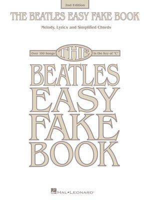 cover image of The Beatles Easy Fake Book