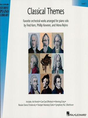 cover image of Classical Themes--Level 1 (Songbook)