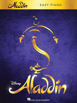 cover image of Aladdin--Broadway Musical Songbook