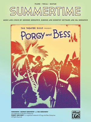 cover image of Summertime (from Porgy and Bess) Sheet Music