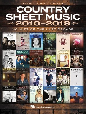 cover image of Country Sheet Music 2010-2019