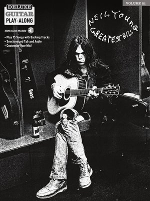 cover image of Neil Young Play-Along Guitar Songbook with Audio