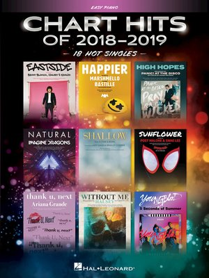cover image of Chart Hits of 2018-2019 Songbook