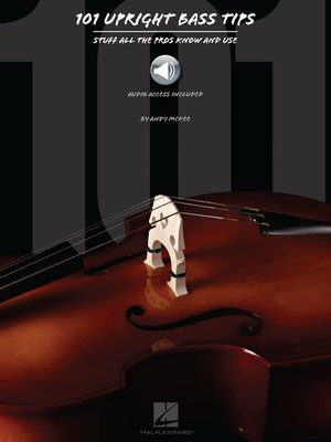 cover image of 101 Upright Bass Tips