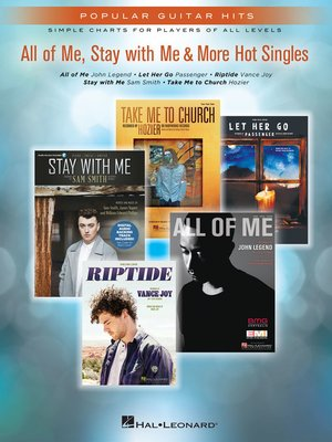 cover image of All of Me, Stay With Me & More Hot Singles Songbook