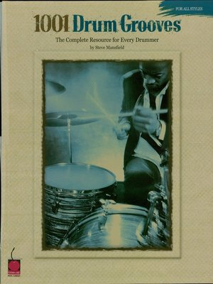 cover image of 1001 Drum Grooves (Music Instruction)