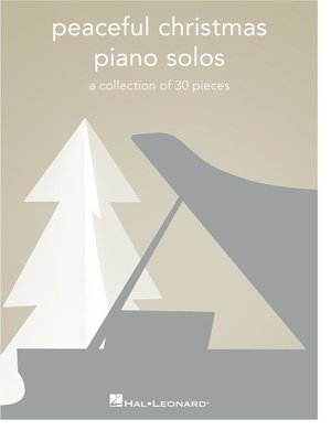 cover image of Peaceful Christmas Piano Solos Songbook