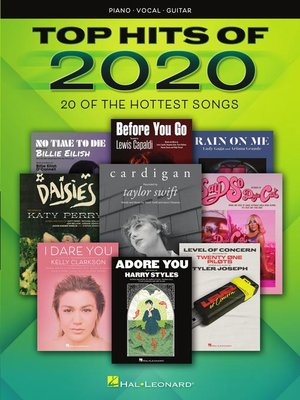 cover image of Top Hits of 2020 Songbook