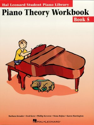 cover image of Piano Theory Workbook--Book 5 (Music Instruction)