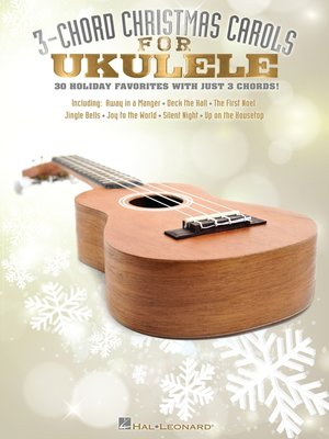 cover image of 3-Chord Christmas Carols (Songbook)