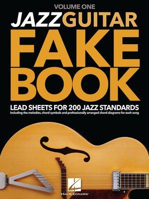cover image of Jazz Guitar Fake Book--Volume 1