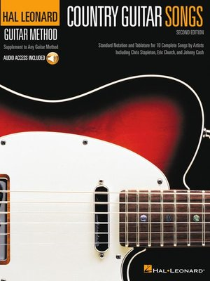 cover image of Country Guitar Songs