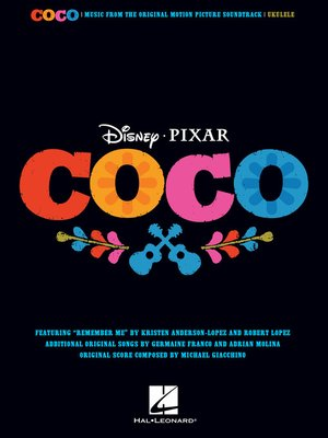 cover image of Disney/Pixar's Coco Songbook