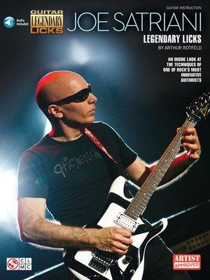 cover image of Joe Satriani--Legendary Licks